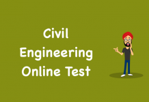 Civil Engineering Online Test