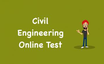 Civil Engineering Online Test
