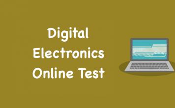 Digital Electronics Online Test