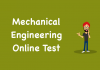 Mechanical Engineering Online Test