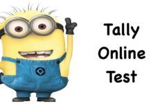 Tally Online Test Series 1st