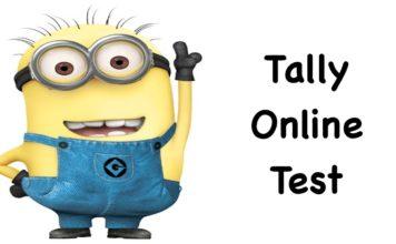 Tally Online Test Series 1st
