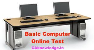 Basic Computer Online Test