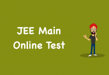 JEE Main Online Test