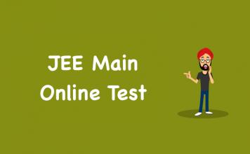 JEE Main Online Test
