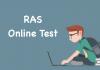 RAS Online Test