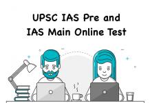 UPSC IAS Pre and IAS Main Online Test