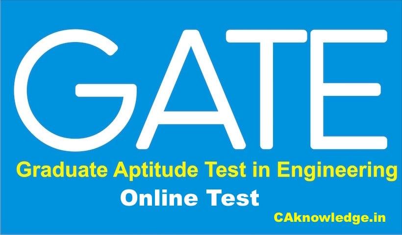 GATE Online Test