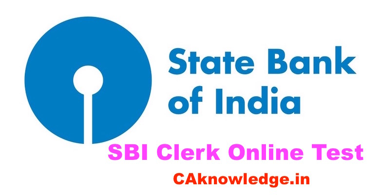 SBI Clerk Online Test