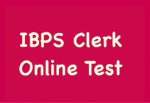 IBPS Clerk Online Test