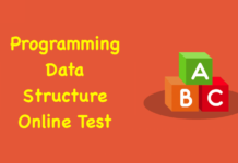 Programming Data Structure Online Test
