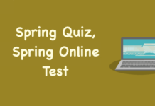 Spring Quiz, Spring Online Test