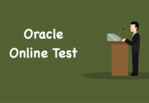 Oracle Online Test