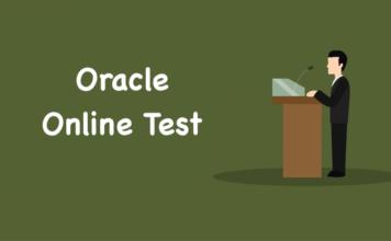 Oracle Online Test