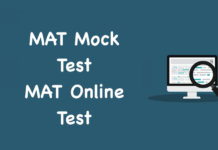 MAT Mock Test