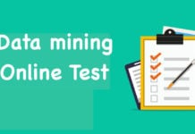 Data mining Online Test