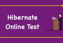 Hibernate Online Test