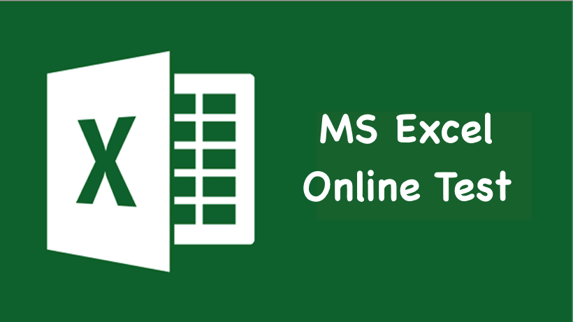 MS Excel Online Test in Hindi, English | MS excel mock test, excel quiz