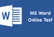 MS Word Online Test
