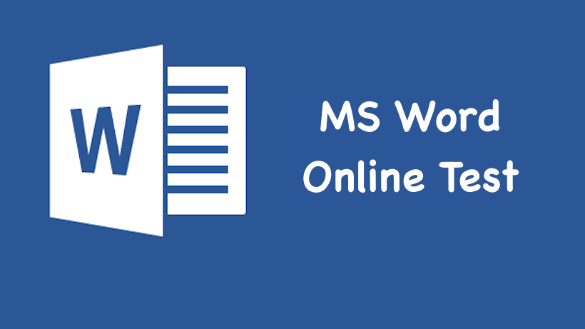 MS Word Online Test in Hindi, English | MS Excel Mock Test 2019
