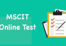 MSCIT Online Test