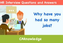 Why Have You Had So Many Jobs? U2013 HR Interview Questions And Answers