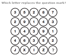 Logical puzzles Question 13