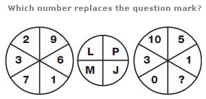 Logical puzzles Question 15