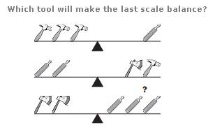 Logical puzzles Question 3