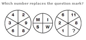 Logical puzzles Question 9