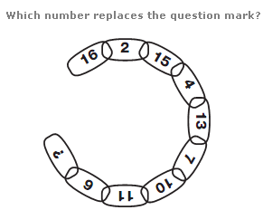 Number puzzles question 8