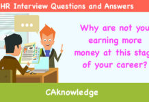 Why are not you earning more money at this stage of your career?