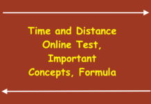 Time and Distance Online Test