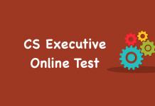 CS Executive Online Test